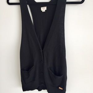 Aritzia Wilfred Black Vest Shirt